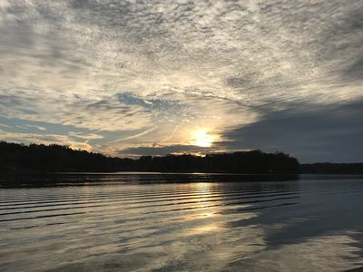 Photo for Sunset Junction: Prettiest Sunsets and Open Deep Water - Bring your boat!