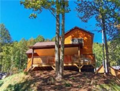 Photo for 075 Watersplash: 2 BR / 2 BA two bedroom log cabin in Maggie Valley, Sleeps 5