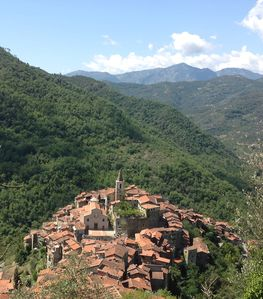 Photo for traditional house in  beautiful APRICALE, Liguria, experience the real Italy!
