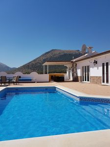 Photo for Stunning Private Mountain view villa  with pool  welcome to real Spain