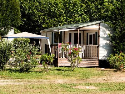 Photo for Camping Le Val de Durance **** - Cottage 3 Rooms 4/6 People