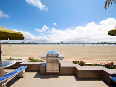 Photo for Dive into your Sunny Bayfront Escape - Two-story Mission Beach Townhome Awaits!