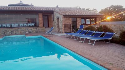 Photo for Apartment Venere 2+2 in a farmhouse with pool, between Umbria and Tuscany