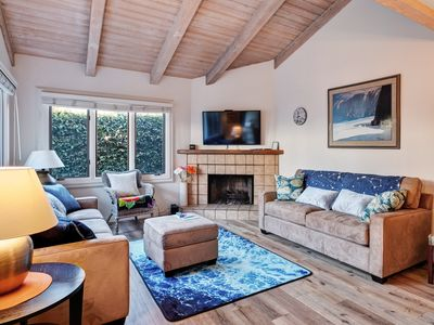 Photo for NEW LISTING! Lovely home w/ a furnished patio & ocean view - close to the beach!