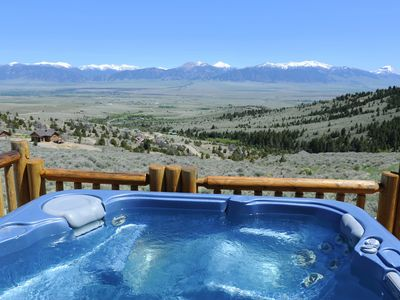 Photo for Log Home - Views of Madison Range! Hot Tub!