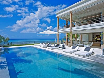 Photo for THE DREAM BARBADOS -  STUNNING  5 BED VILLA -BEACHFRONT WITH PRIVATE POOL AND STAFF