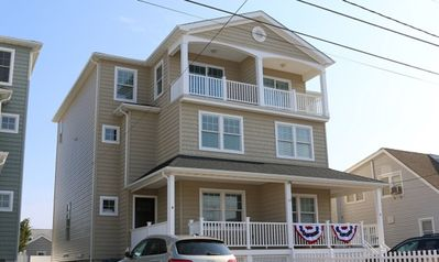 Duplex property. 19a is located on left side.  3 floors and has private backyard