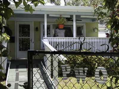 Photo for EGAD! 2/2  home w/ fenced in yard and RV / Boat parking in historic Eau Gallie!