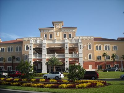 Photo for A great Villa big enough for the whole family and close to Disney Parks