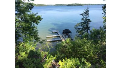 Photo for Cute, lakefront cottage on beautiful Long Lake.  Clean and family-friendly!