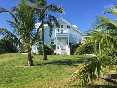 Seafront, The Blue House, Russell Island, Spanish Wells, Eleuthera, water access
