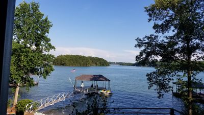 Photo for Brand New Home –with 180 degree view of the lake!