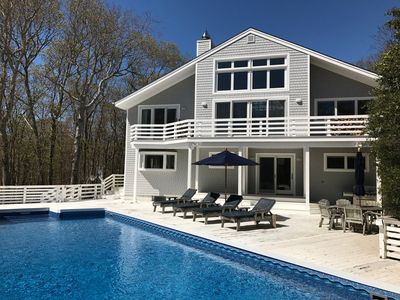 Photo for August Rental In Amagansett with Pool & Tennis near ocean and bay beaches $25K
