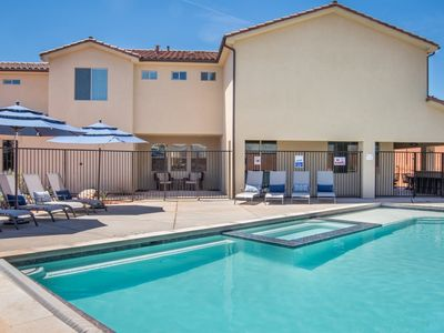 Photo for 51 | SLEEPS 50, LOW FEES, PRIVATE POOL & 2 HOT TUBS, PRIVATE PICKLEBALL & BASKETBALL COURT, ARCADE &