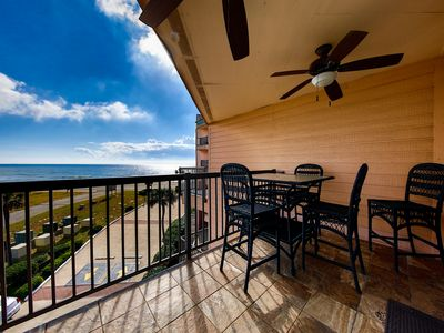 Photo for Top floor, King bed, WiFI, AMAZING GULF Views, Close to Convention Center,