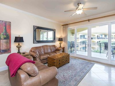 Photo for Free Beach Service! Spacious Condo with Private Balcony on 30A. Amazing Community Pools!