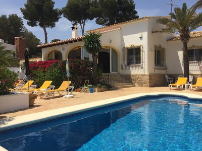 Photo for 3BR Villa Vacation Rental in Moraira, Valencia