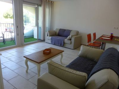 Photo for La Grande-Motte Apartment, Sleeps 4 with Air Con and WiFi