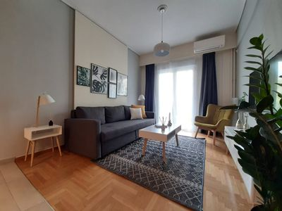 Photo for Charming & Comfy 2BD Apartment in Acropolis Area