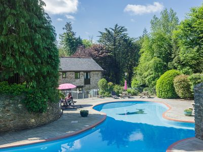 Photo for Beautiful Stone Country Cottage set within a 28 acre Estate plus Swimming Pool