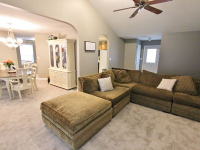 Photo for Cozy Home Close to Everything! 1 Mile from Mizzou!