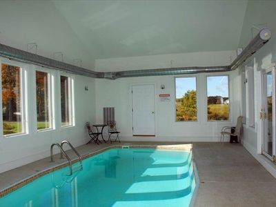 Photo for Private Indoor Swim Pool,Hot Tub, Free Golf&Mini Golf, Tennis, Fire Pit