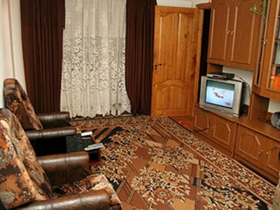 Photo for 2 BR for daily rent M Palace of Ukrai