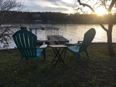 Photo for Enjoy our beautifully remodeled Lake Buchanan Waterfront home & multiple decks