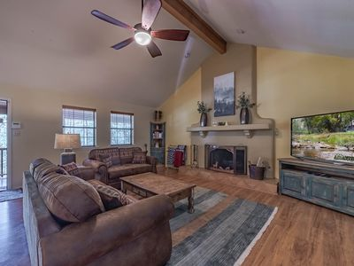 Photo for Tomahawk Hill Chalet- Main: ADORABLE, 1 Bedroom with a Hot Tub AND a Video Game Table!