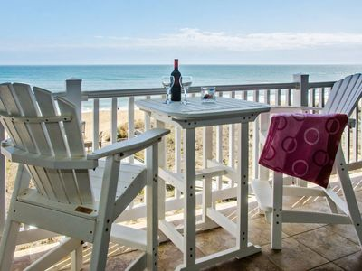 Photo for Best of the Best - Beautiful Top Floor Oceanfront with expansive views, private balcony at First Flight Retreat (FFR310 - Ocean Sky)