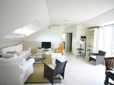 Photo for Charming ATTIC 2 BD with terrace-Rehavia
