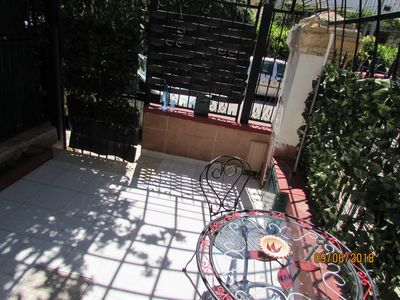 Photo for MONOLOCALE HOLIDAY HOUSE IN PALERMO 300 METERS FROM THE BEACH OF MONDELLO