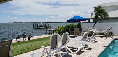 Photo for Amazing Sunsets Over Boca Ciega Bay, Cheerful Florida Waterfront Home, Location!