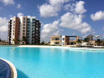 Photo for ★ᗩquetzali★ Condo Fully Equipped @Dream Lagoons