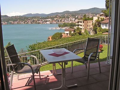 Photo for Apartment Castagnola (Utoring)  in Castagnola, Ticino - 2 persons, 1 bedroom