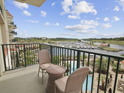 Photo for Beautiful Views of Intracoastal Waterway - Pools, Tennis, Golf & More!
