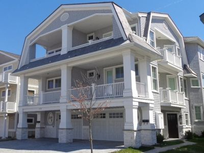 Photo for Beautiful Beach front Townhouse with OCEAN VIEWS