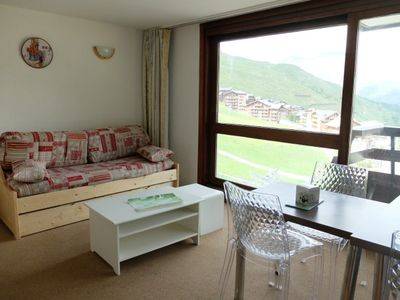 Photo for Nice two rooms apartment in Lac, ski down the residence