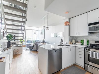 Photo for Stylish Two Level Executive Loft with Parking!
