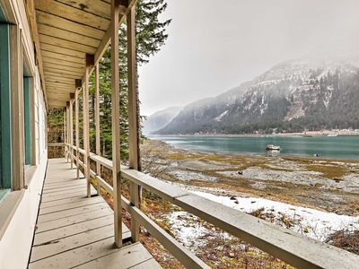 Photo for Waterfront Home w/Deck 5 Mins to Downtown Juneau!