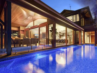 Photo for Absolute waterfront house located at Port of Airlie