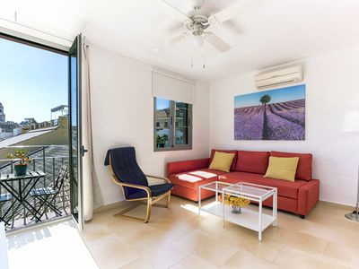 Photo for Apartment with terraces views Malaga Cathedral