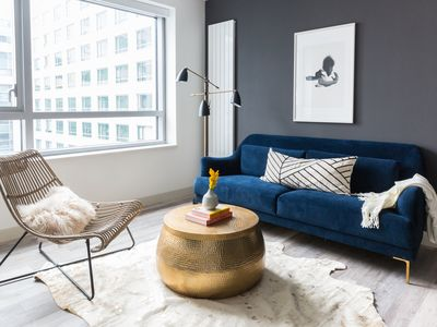 Photo for Sonder | Eighth Street | Sleek 1BR + Rooftop Patio