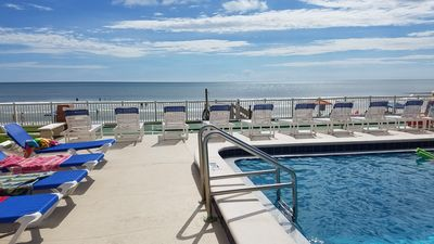 Photo for Ocean and Pool View Condo – Point East Condominium