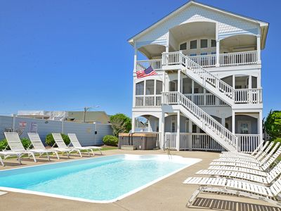 Photo for Oceanfront family home with Eevator and  Pool - 266