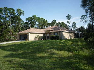 Photo for Three bedroom villa with pool, in a quiet location,close to Gulf Coast beaches
