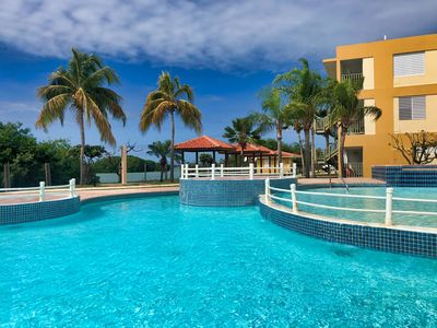 Beautiful Oceanfront View Condo on Natural Reserve with Pool +Free Wifi