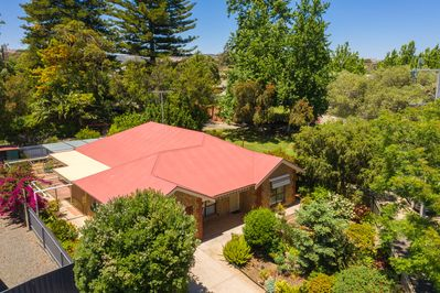 Leafy Magpie House in the heart of Tanunda