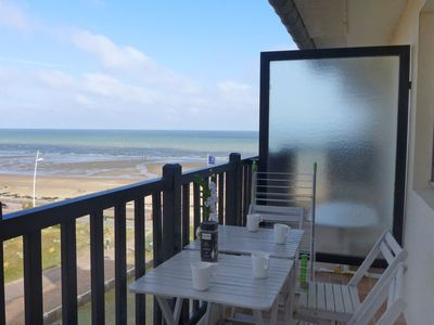 Photo for One bedroom Apartment, sleeps 4 in Cabourg with Pool and WiFi