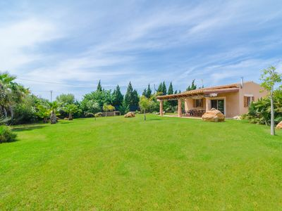 Photo for SHORT PETIT - Apartment with private garden in ses Salines.
